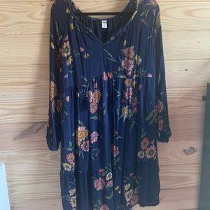 Long Sleeve Boho Dress